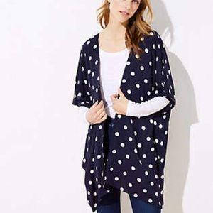 Loft - Polka Dot Kimono - NWT - XS/S